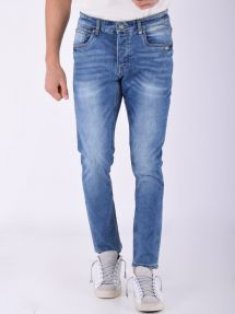 Jeans slim stretch denim chiaro