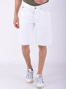 Bermuda regular fit havana bianco