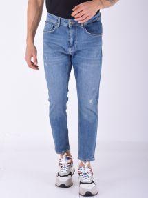 Denim carrot fit denim medio
